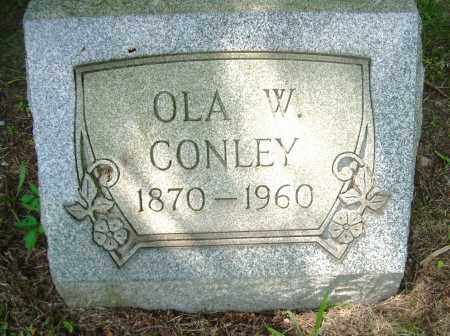 CONLEY, OLA W - Columbiana County, Ohio   OLA W CONLEY - Ohio Gravestone Photos