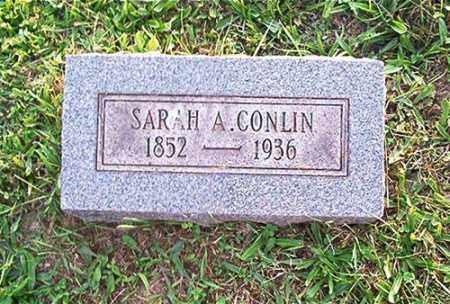 CONLIN, SARAH A. - Columbiana County, Ohio | SARAH A. CONLIN - Ohio Gravestone Photos