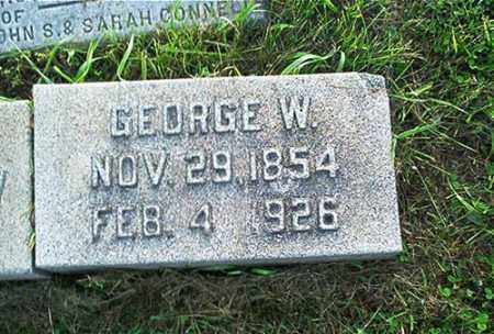 CONNELL, GEORGE W. - Columbiana County, Ohio   GEORGE W. CONNELL - Ohio Gravestone Photos