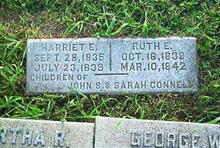CONNELL, HARRIET E. - Columbiana County, Ohio | HARRIET E. CONNELL - Ohio Gravestone Photos