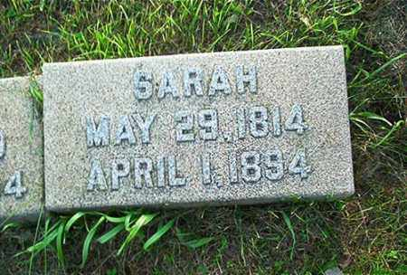 CONNELL, SARAH - Columbiana County, Ohio | SARAH CONNELL - Ohio Gravestone Photos