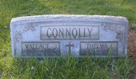 CONNOLLY, WALLACE J. - Columbiana County, Ohio   WALLACE J. CONNOLLY - Ohio Gravestone Photos