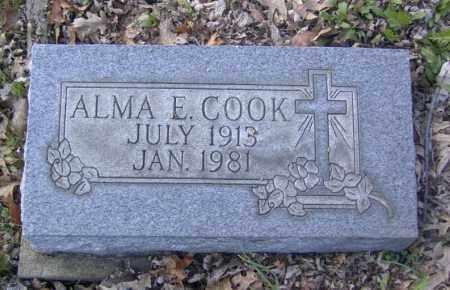 COOK, ALMA E. - Columbiana County, Ohio | ALMA E. COOK - Ohio Gravestone Photos