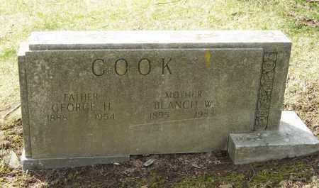 COOK, BLANCH W. - Columbiana County, Ohio   BLANCH W. COOK - Ohio Gravestone Photos