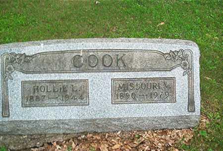 COOK, MISSOURI ? - Columbiana County, Ohio | MISSOURI ? COOK - Ohio Gravestone Photos