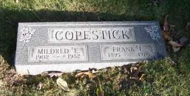 COPESTICK, FRANK L. - Columbiana County, Ohio | FRANK L. COPESTICK - Ohio Gravestone Photos
