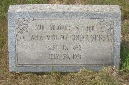 MOUNTFORD CORNS, CLARA - Columbiana County, Ohio | CLARA MOUNTFORD CORNS - Ohio Gravestone Photos