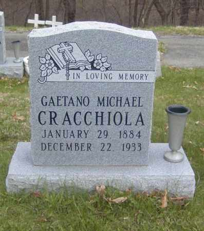 CRACCHIOLA, GAETANO MICHAEL - Columbiana County, Ohio   GAETANO MICHAEL CRACCHIOLA - Ohio Gravestone Photos