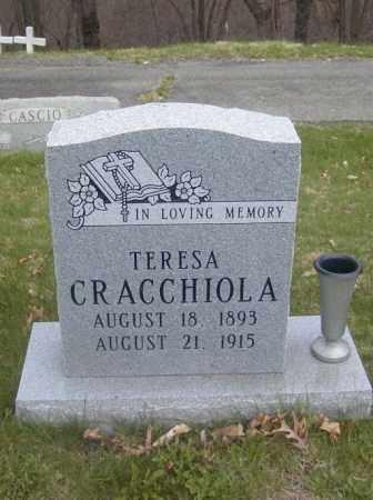 CRACCHIOLA, TERESA - Columbiana County, Ohio   TERESA CRACCHIOLA - Ohio Gravestone Photos