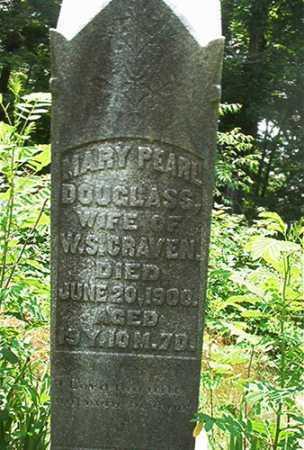 DOUGLASS CRAVEN, MARY PEARL - Columbiana County, Ohio | MARY PEARL DOUGLASS CRAVEN - Ohio Gravestone Photos
