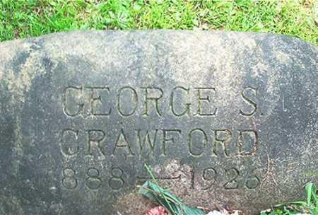 CRAWFORD, GEORGE S. - Columbiana County, Ohio | GEORGE S. CRAWFORD - Ohio Gravestone Photos