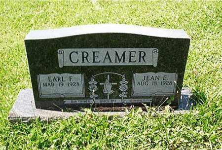 CREAMER, EARL F. - Columbiana County, Ohio | EARL F. CREAMER - Ohio Gravestone Photos