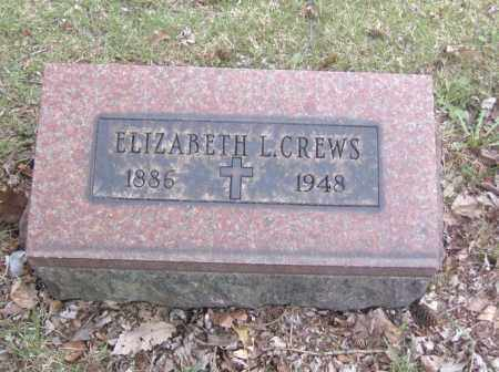 CREWS, ELIZABETH L. - Columbiana County, Ohio | ELIZABETH L. CREWS - Ohio Gravestone Photos