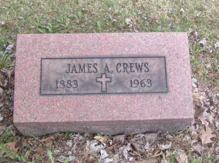 CREWS, JAMES A. - Columbiana County, Ohio | JAMES A. CREWS - Ohio Gravestone Photos