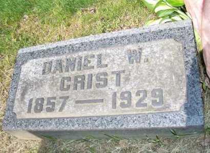 CRIST, DANIEL - Columbiana County, Ohio   DANIEL CRIST - Ohio Gravestone Photos