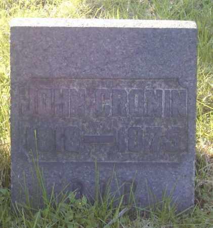 CRONIN, JOHN - Columbiana County, Ohio   JOHN CRONIN - Ohio Gravestone Photos