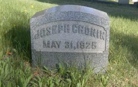 CRONIN, JOSEPH - Columbiana County, Ohio | JOSEPH CRONIN - Ohio Gravestone Photos