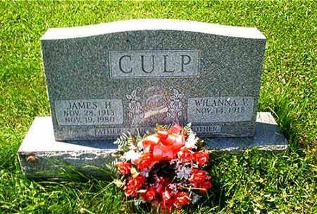CULP, WILANNA V. - Columbiana County, Ohio | WILANNA V. CULP - Ohio Gravestone Photos