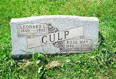 CULP, ROSE MAY - Columbiana County, Ohio   ROSE MAY CULP - Ohio Gravestone Photos