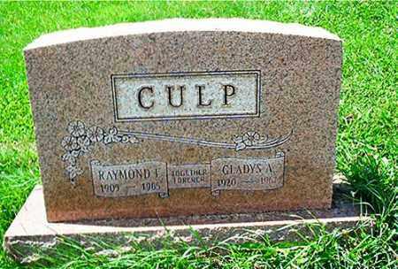 CULP, RAYMOND F. - Columbiana County, Ohio | RAYMOND F. CULP - Ohio Gravestone Photos