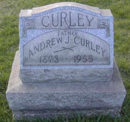 CURLEY, ANDREW J. - Columbiana County, Ohio   ANDREW J. CURLEY - Ohio Gravestone Photos