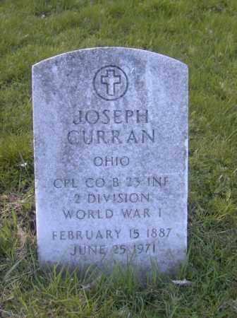 CURRAN, JOSEPH - Columbiana County, Ohio | JOSEPH CURRAN - Ohio Gravestone Photos