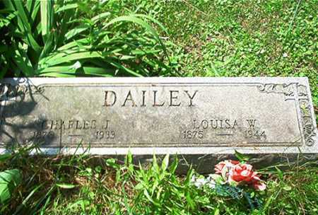 DAILEY, CHARLES J. - Columbiana County, Ohio | CHARLES J. DAILEY - Ohio Gravestone Photos