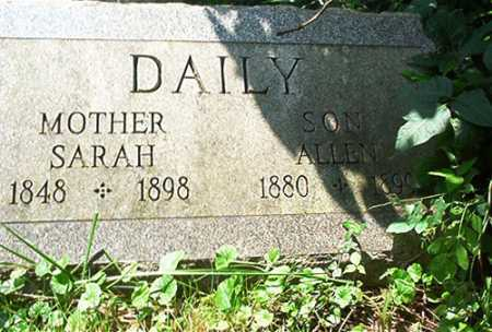 DAILY, ALLEN - Columbiana County, Ohio | ALLEN DAILY - Ohio Gravestone Photos