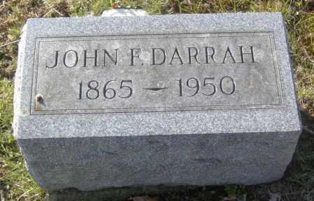 DARRAH, JOHN F. - Columbiana County, Ohio | JOHN F. DARRAH - Ohio Gravestone Photos