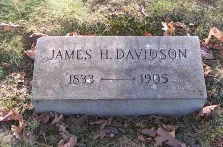 DAVIDSON, JAMES H. - Columbiana County, Ohio | JAMES H. DAVIDSON - Ohio Gravestone Photos