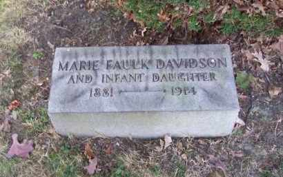DAVIDSON, INFANT DAUGHTER - Columbiana County, Ohio | INFANT DAUGHTER DAVIDSON - Ohio Gravestone Photos