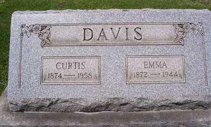 MESSIMORE DAVIS, EMMA - Columbiana County, Ohio | EMMA MESSIMORE DAVIS - Ohio Gravestone Photos