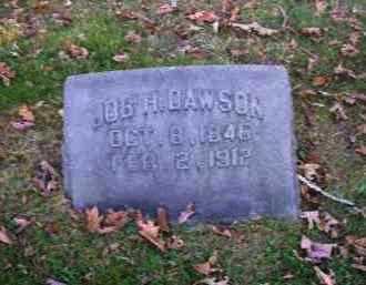 DAWSON, JOB H. - Columbiana County, Ohio   JOB H. DAWSON - Ohio Gravestone Photos