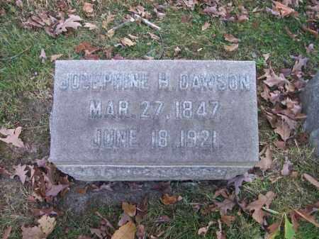 DAWSON, JOSEPHINE H. - Columbiana County, Ohio | JOSEPHINE H. DAWSON - Ohio Gravestone Photos