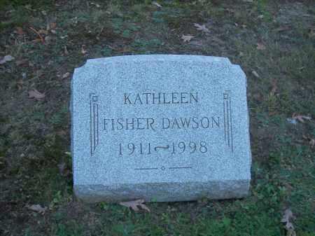 DAWSON, KATHLEEN - Columbiana County, Ohio | KATHLEEN DAWSON - Ohio Gravestone Photos