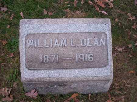 DEAN, WILLIAM L. - Columbiana County, Ohio | WILLIAM L. DEAN - Ohio Gravestone Photos