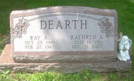 DEARTH, RAY A - Columbiana County, Ohio | RAY A DEARTH - Ohio Gravestone Photos