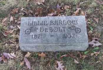 BARLOW DEBOLT, LILLIE - Columbiana County, Ohio | LILLIE BARLOW DEBOLT - Ohio Gravestone Photos