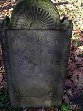 DICKEY, MOSES - Columbiana County, Ohio | MOSES DICKEY - Ohio Gravestone Photos