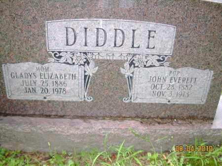 DIDDLE, GLADYS ELIZABETH - Columbiana County, Ohio | GLADYS ELIZABETH DIDDLE - Ohio Gravestone Photos