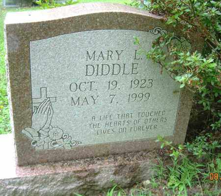 DIDDLE, MARY L. - Columbiana County, Ohio | MARY L. DIDDLE - Ohio Gravestone Photos