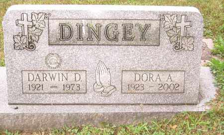 DINGEY, DARWIN D - Columbiana County, Ohio | DARWIN D DINGEY - Ohio Gravestone Photos