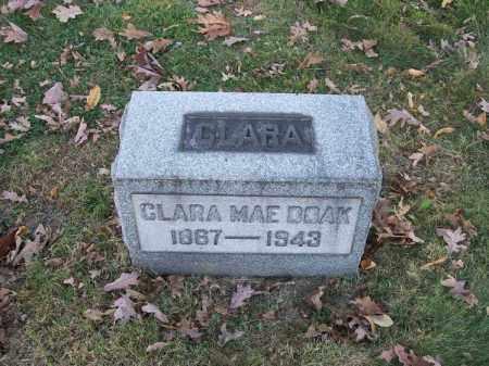 DOAK, CLARA MAE - Columbiana County, Ohio   CLARA MAE DOAK - Ohio Gravestone Photos