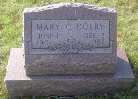 DOLBY, MARY C. - Columbiana County, Ohio | MARY C. DOLBY - Ohio Gravestone Photos