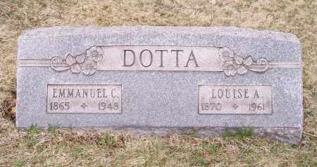 DOTTA, EMMANUEL C. - Columbiana County, Ohio | EMMANUEL C. DOTTA - Ohio Gravestone Photos