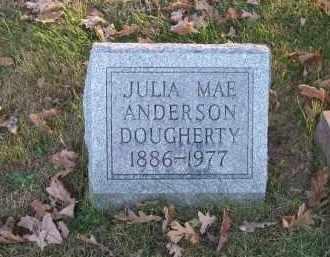 ANDERSON DOUGHERTY, JULIA MAE - Columbiana County, Ohio | JULIA MAE ANDERSON DOUGHERTY - Ohio Gravestone Photos
