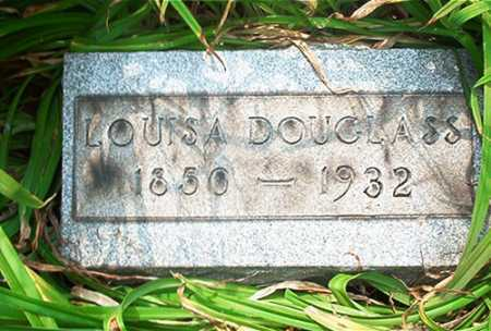 DOUGLASS, LOUISA - Columbiana County, Ohio   LOUISA DOUGLASS - Ohio Gravestone Photos
