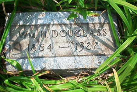 DOUGLASS, WM. H. - Columbiana County, Ohio   WM. H. DOUGLASS - Ohio Gravestone Photos