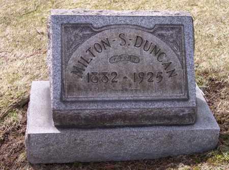 DUNCAN, MILTON S. - Columbiana County, Ohio | MILTON S. DUNCAN - Ohio Gravestone Photos