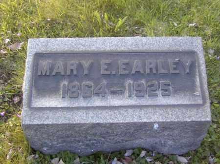 EARLEY, MARY E. - Columbiana County, Ohio | MARY E. EARLEY - Ohio Gravestone Photos